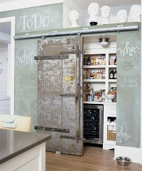 8 Pretty Pantry Door Ideas That Showcase Your Storeroom as
