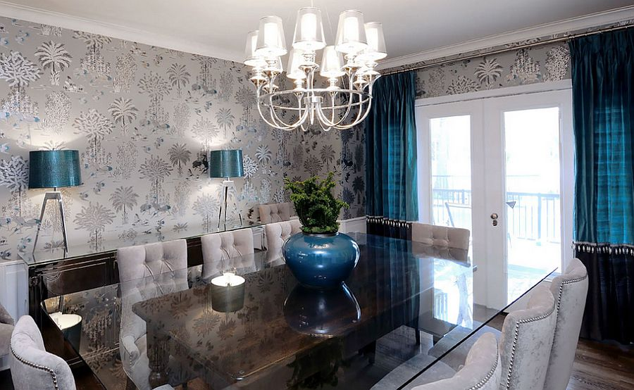 25 Elegant and Exquisite Gray Dining Room Ideas - royal home decor