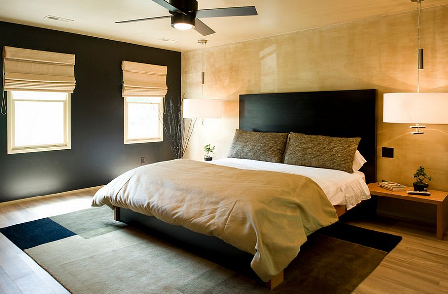 15 Refined Decorating Ideas in Glittering Black and Gold - black and gold bedroom decorating ideas