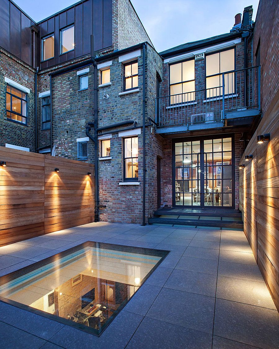 Exterior Light Fixtures Smart Warehouse Conversion In London By Chris Dyson Architects