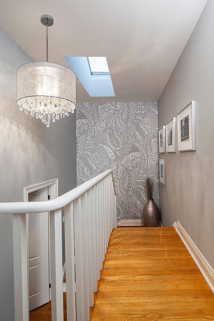 Brick Wallpaper 3d India 16 Fabulous Ideas That Bring Wallpaper To The Stairway