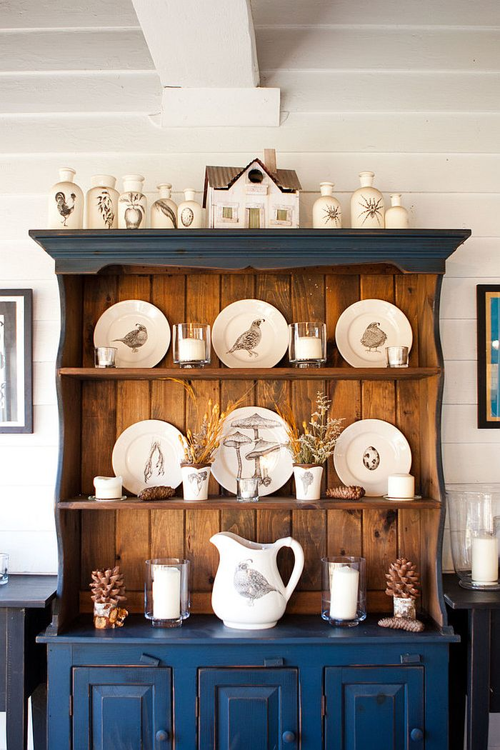 Hoosier Cabinet 30 Unassumingly Chic Farmhouse Style Dining Room Ideas