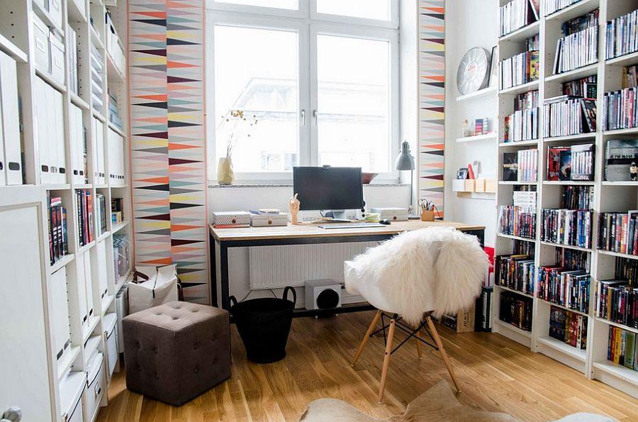3d Floor Wallpaper Murals 50 Splendid Scandinavian Home Office And Workspace Designs