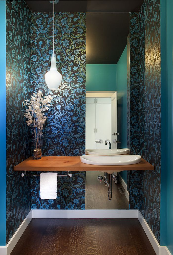 Badezimmer Modern Ohne Fliesen How To Design A Picture-perfect Powder Room