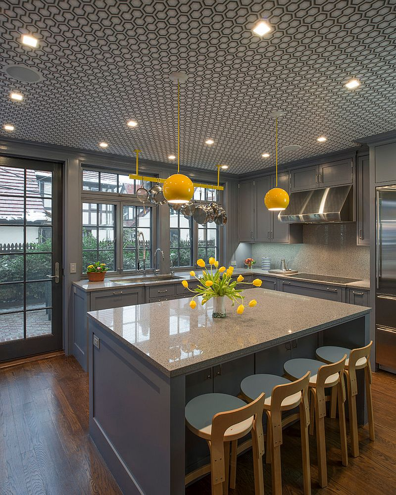 Yellow Kitchen Design Ideas 11 Trendy Ideas That Bring Gray And Yellow To The Kitchen