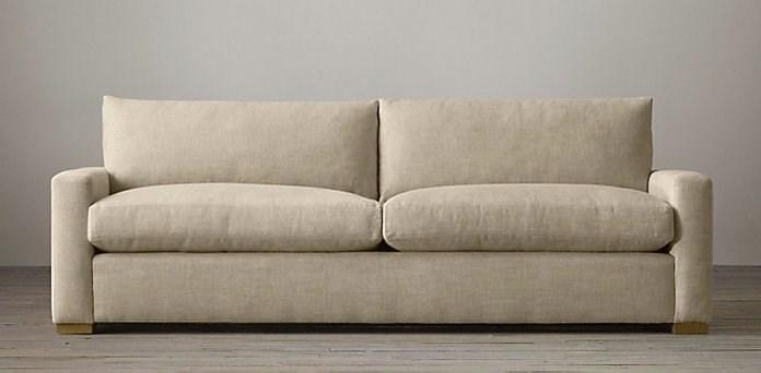 sleeper sofa leather