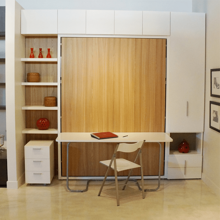 Murphy Bed Desk 8 Versatile Murphy Beds That Turn Any Room Into A Spare