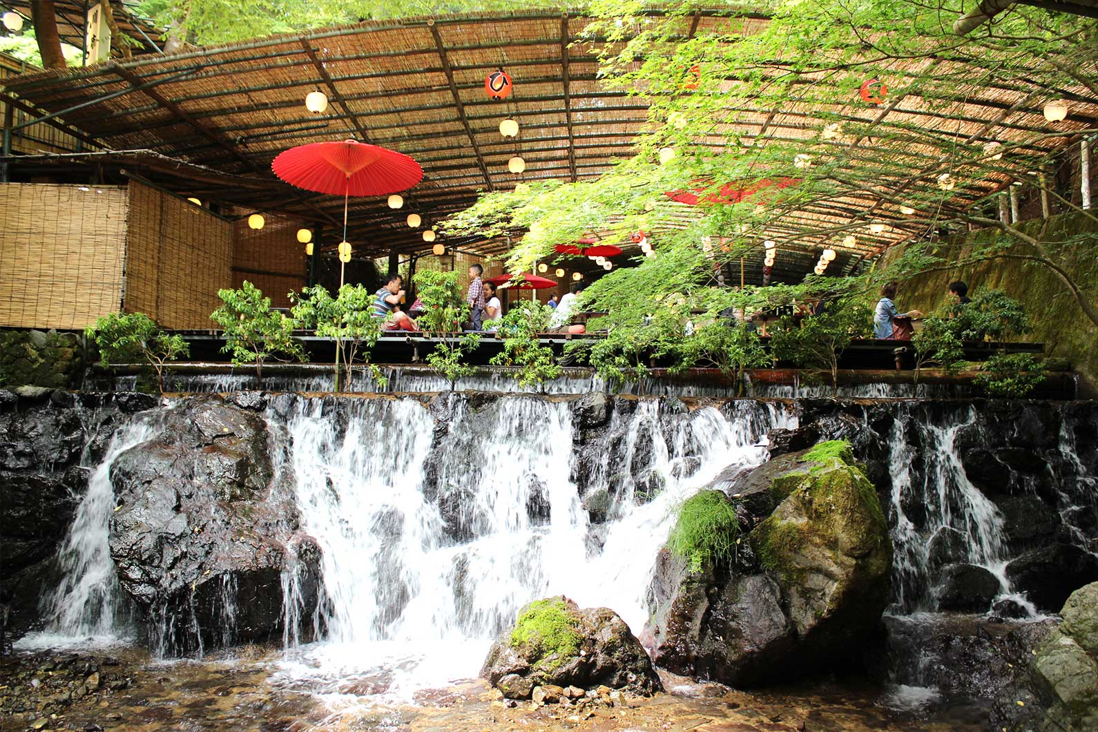 1920x1080 Fall Urban Wallpaper Dine Atop A Waterfall At These Kawadoko Restaurants
