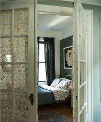 15 Brilliant French Door Window Treatments
