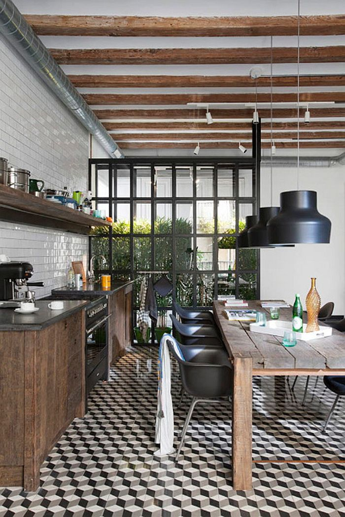 Cuisine Vintage 25 Creative Geometric Tile Ideas That Bring Excitement To