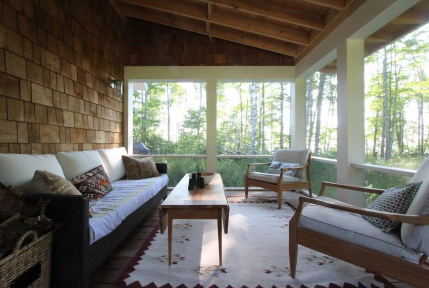 Tranquil Screened-In Porch Ideas