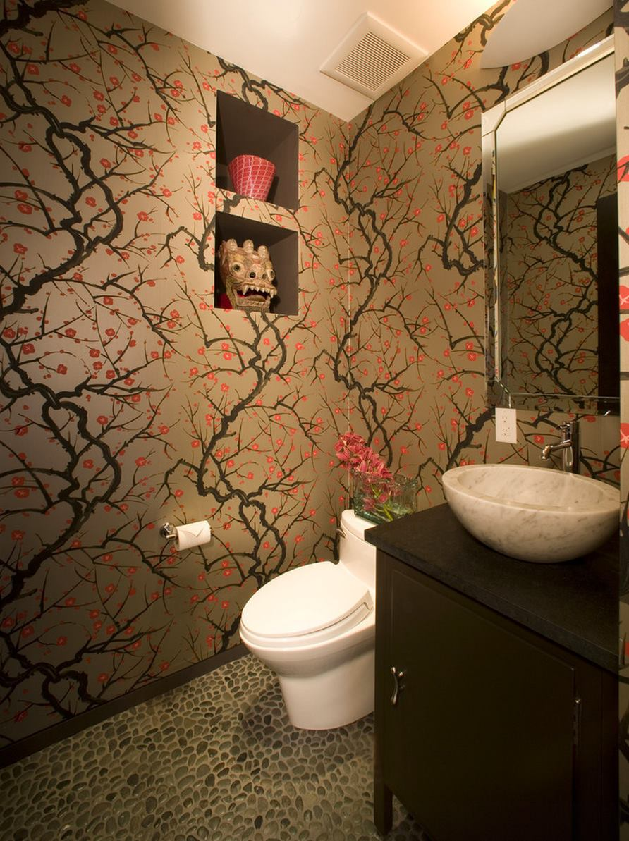 Lavabo Fontaine The Beauty Of Cherry Blossom Wallpaper