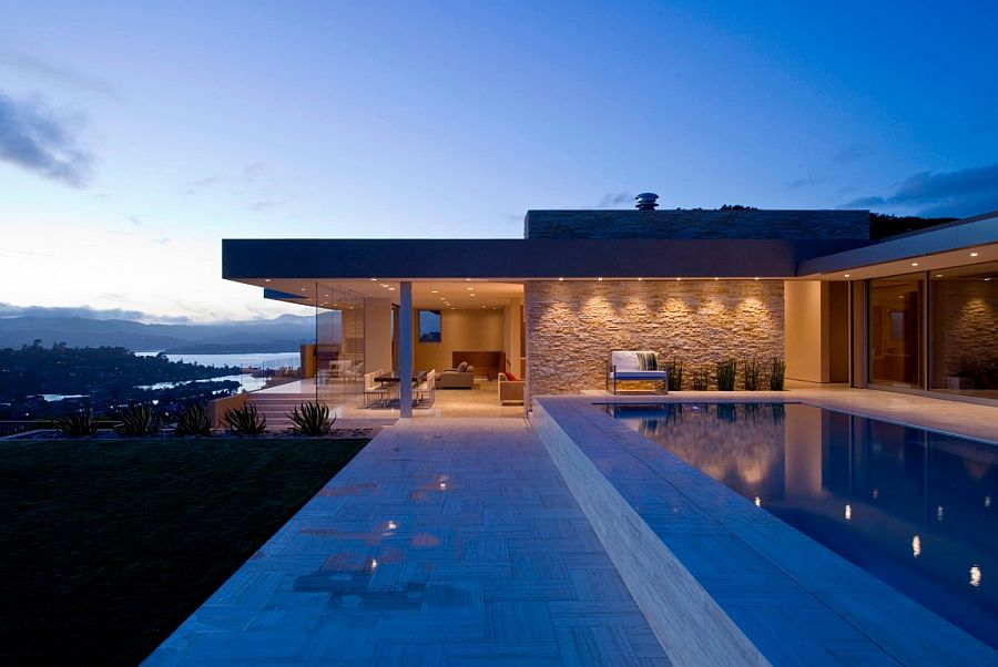 Travertin Terrasse Garay Residence: Magnificent Portal Leads To Dreamy Views