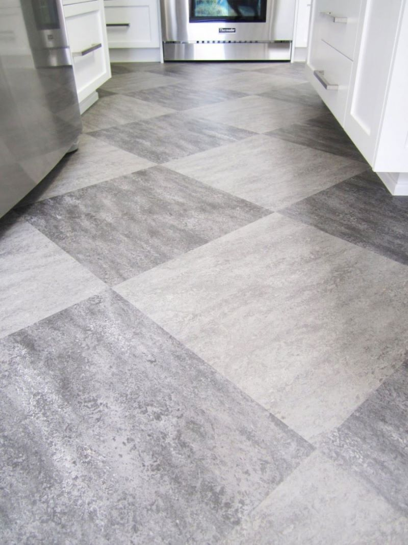 Kitchen Floor Tiles Pictures Make A Statement With Large Floor Tiles