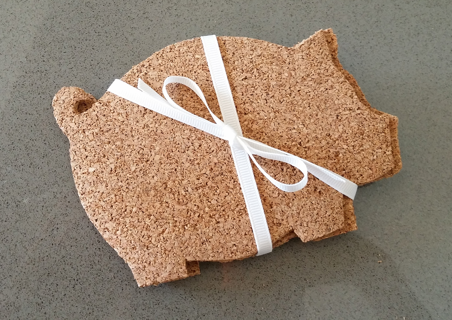 Pig Coasters How To Make Adorable And Inexpensive Pig Shaped Coasters