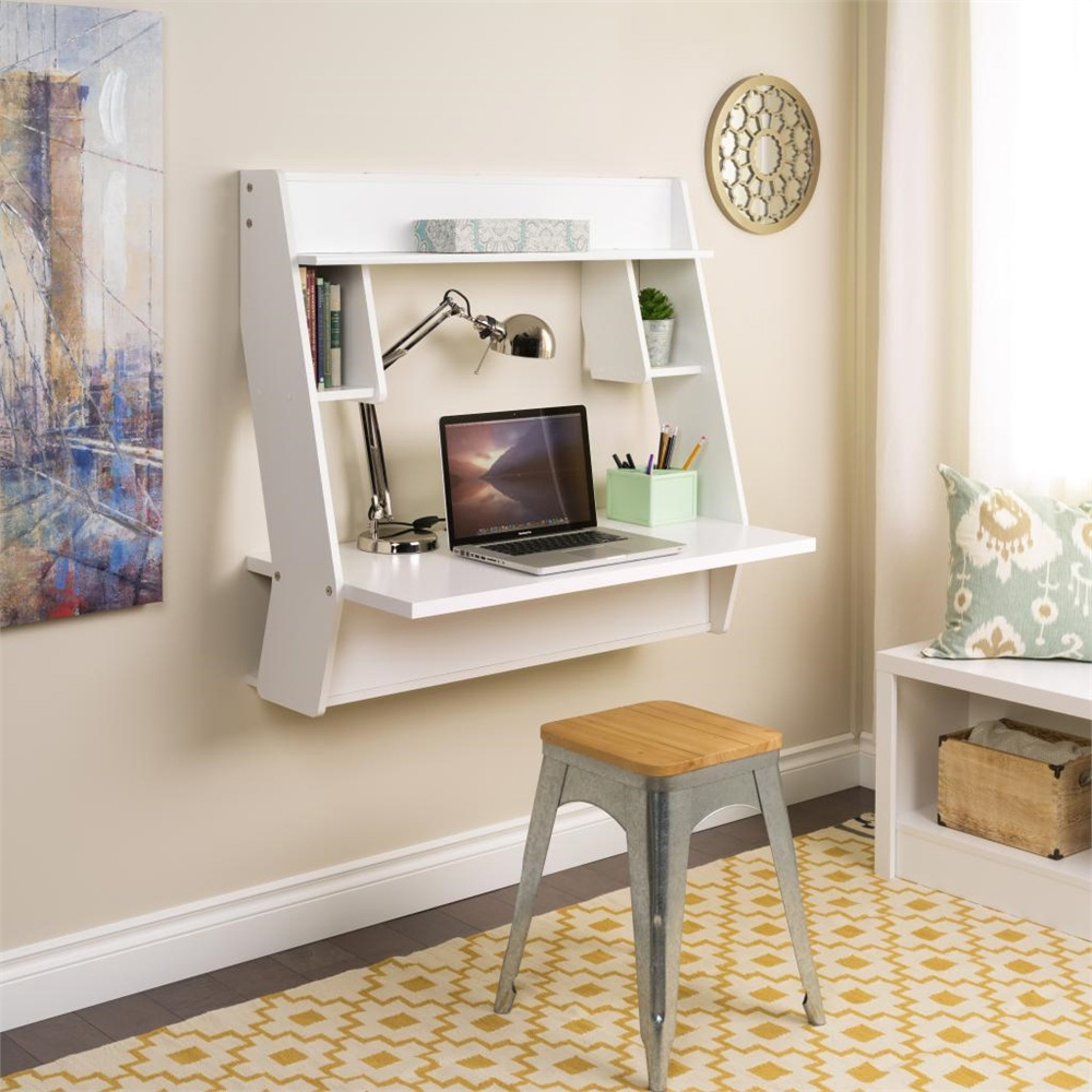 Floating Desk Australia 8 Wall Mounted Desks That Save Room In Small Spaces