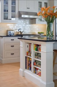 15 Unique Kitchen Ideas for Storing Cookbooks  Interior ...