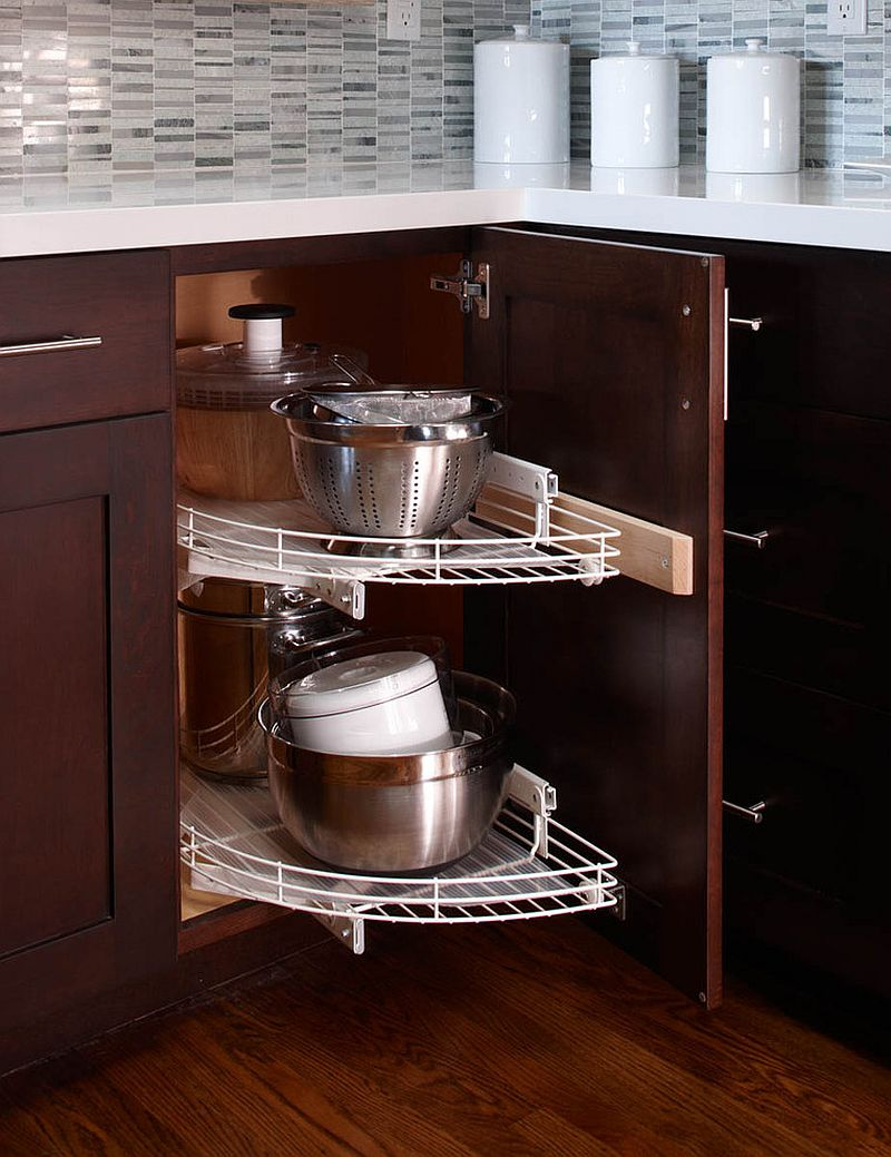Kitchen Cabinet Design Plans Download 30 Corner Drawers And Storage Solutions For The Modern Kitchen