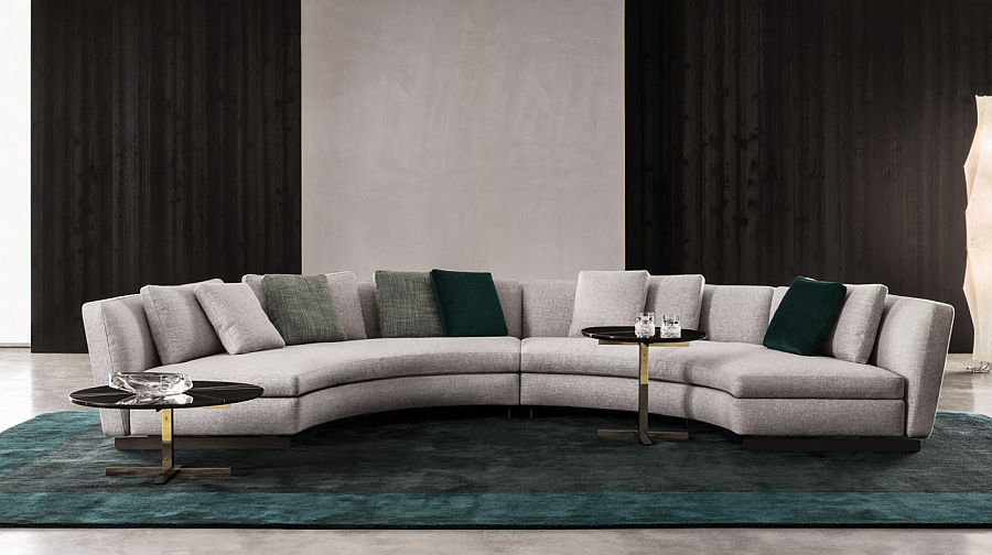 Curved Sofa 20 Modish Minotti Sofas And Seating Systems