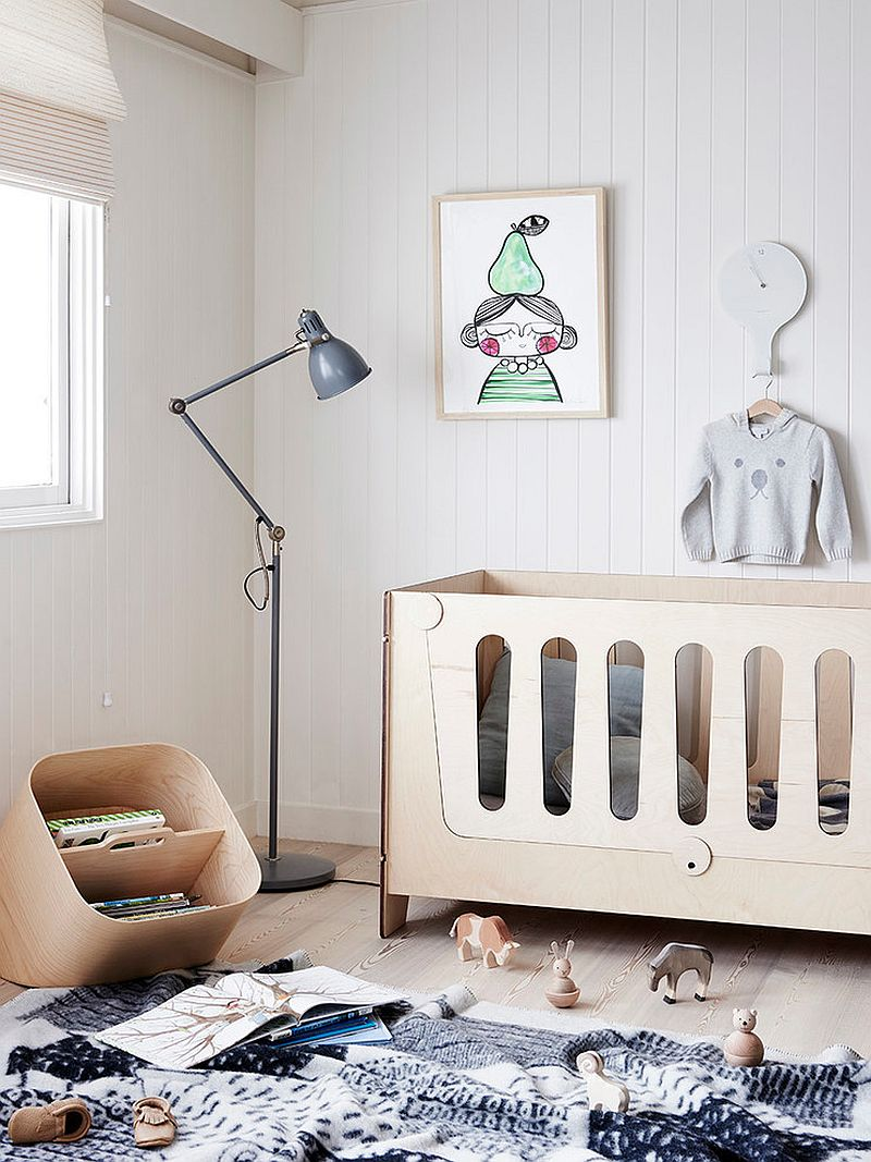 Baby Bassinet Cradle 25 Cute And Comfy Scandinavian Nursery Ideas