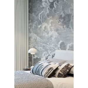 Natural View Gallery Bedroom Bedrooms Wallpaper Ideas Cloud Wallpaper By Fornasetti At Cole Son Bedrooms That Take Inspiration From Clouds Wallpaper Designs Bedroom Pinterest