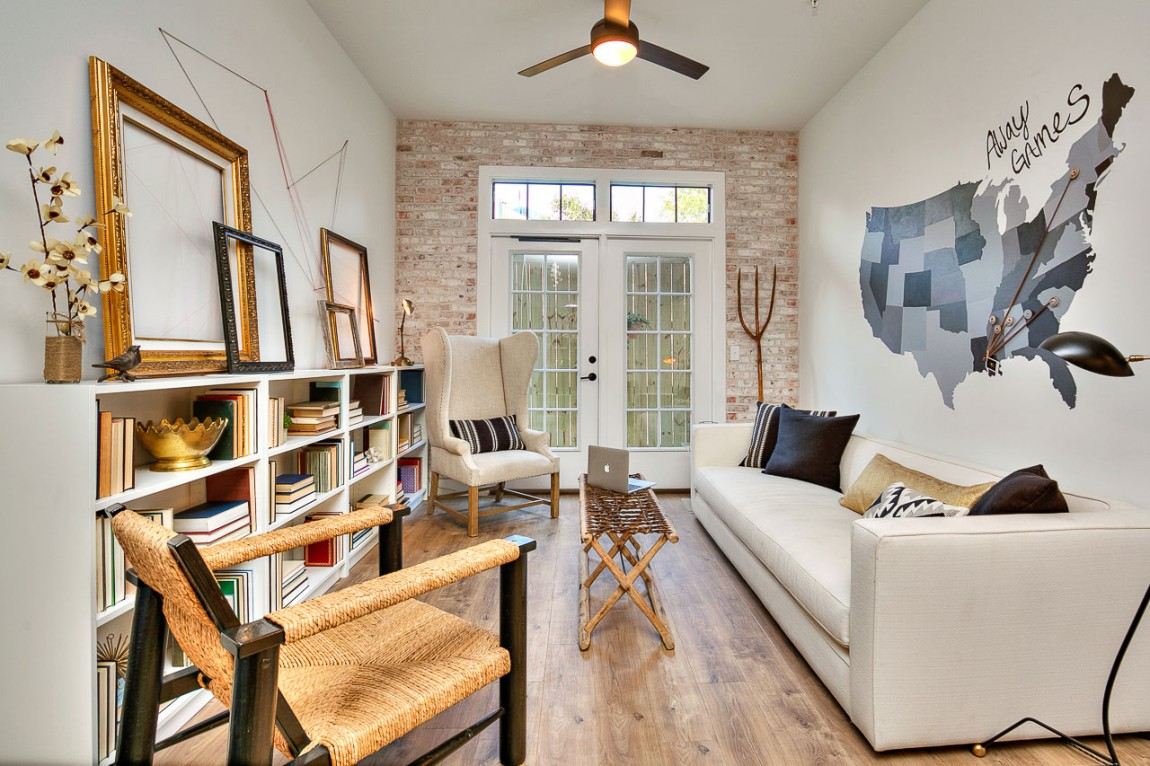 Dazzling Living Space View View Empty Frames Creates A Ambiance Gallery Use Gallery Practical Apartment Design Apartment Redefines College Campus Living apartment Modern Decoration Ideas For Apartments