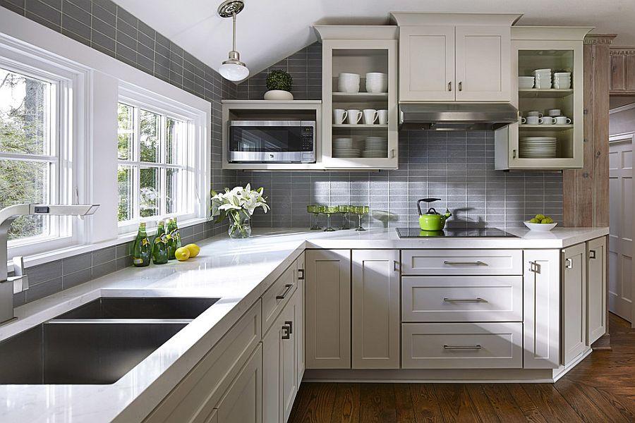 small kitchens gray stylish table eat small kitchen ideas decoholic