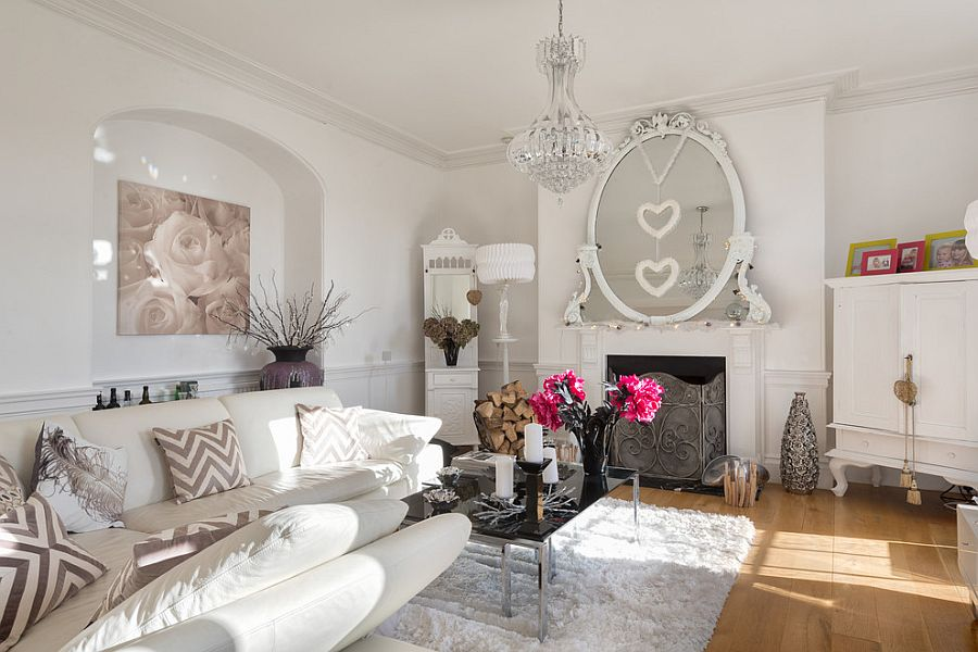 50 Resourceful and Classy Shabby Chic Living Rooms - country chic living room