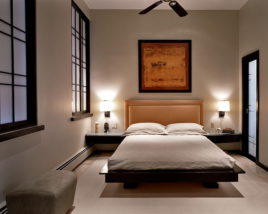 20 Serenely Stylish Modern Zen Bedrooms   Zen Room Decor Part 98