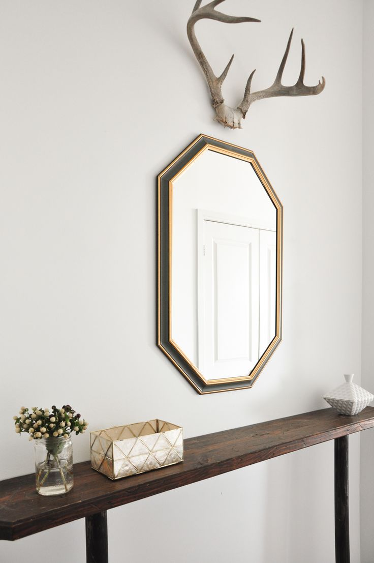 Decorative Mirror Table 18 Entryways With Captivating Mirrors