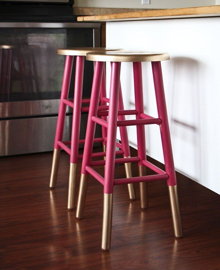 Colorful Bar Stools 18 Brilliant Kitchen Bar Stools That Add A Serious Pop Of
