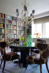 25 Dining Rooms and Library Combinations, Ideas, Inspirations