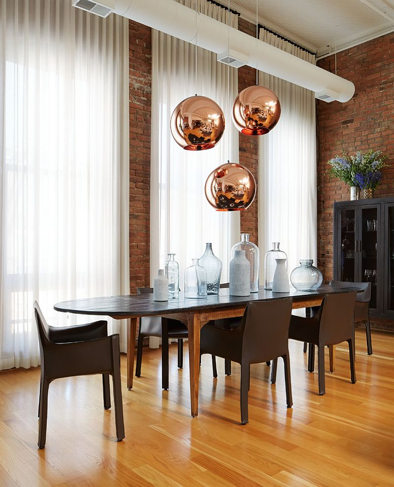 Adding Brick Wall Interior 50 Bold And Inventive Dining Rooms With Brick Walls