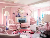 20 Classy and Cheerful Pink Living Rooms - Interior ...