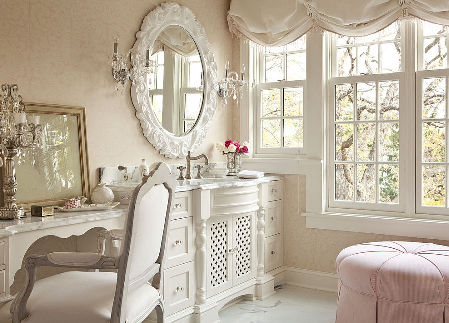 Revitalized Luxury 30 Soothing Shabby Chic Bathrooms - shabby chic bathroom ideas