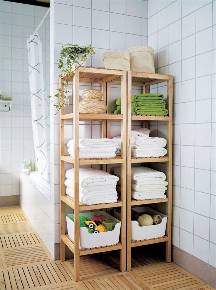 Ikea Open Shelving 15 Exquisite Bathrooms That Make Use Of Open Storage