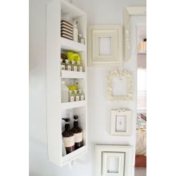 Marvellous Open Storage Bathroom Wall Cabinet Organizer Gallery Small Shelving Piece Installed On Bathroom Wall Bathrooms That Make Use View