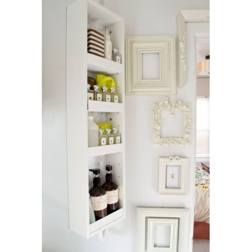 Medium Crop Of Bathroom Wall Organizer Shelves