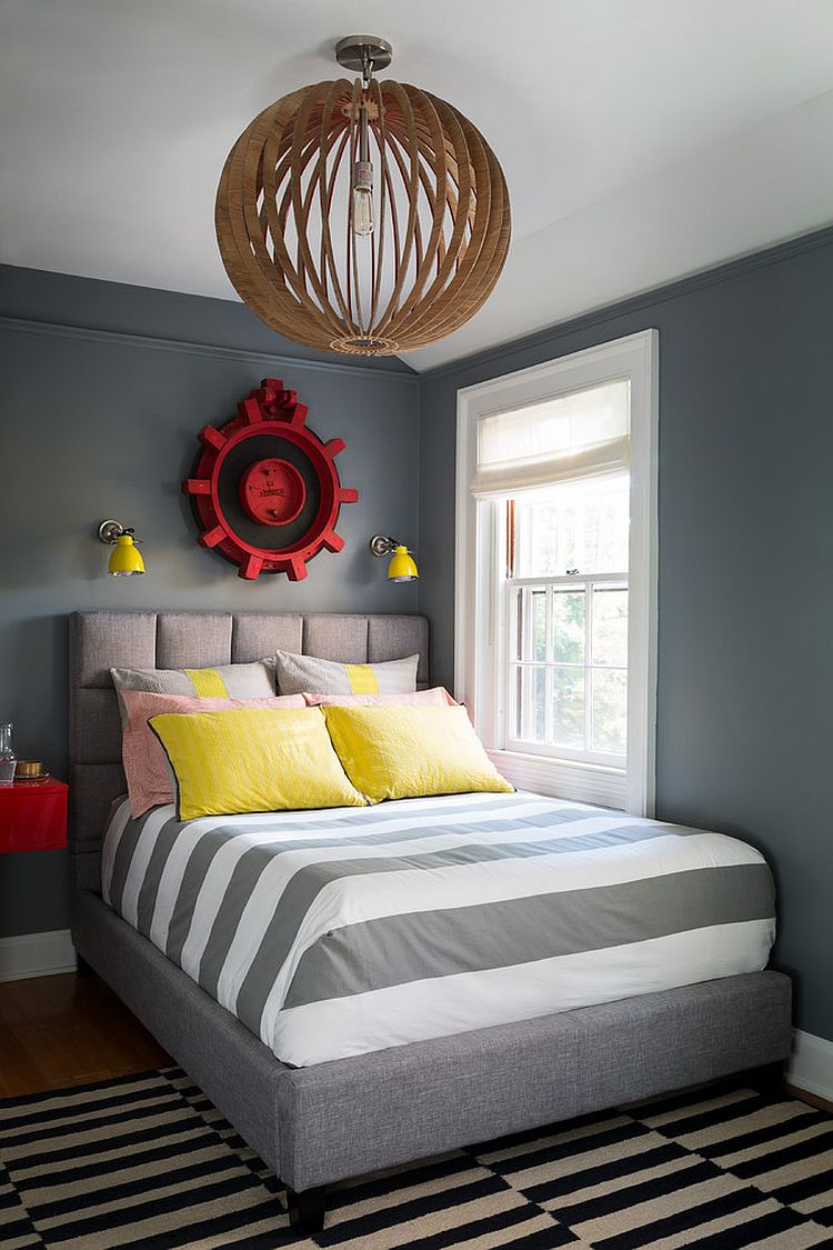 Boys Room Walls 25 Cool Kids Bedrooms That Charm With Gorgeous Gray