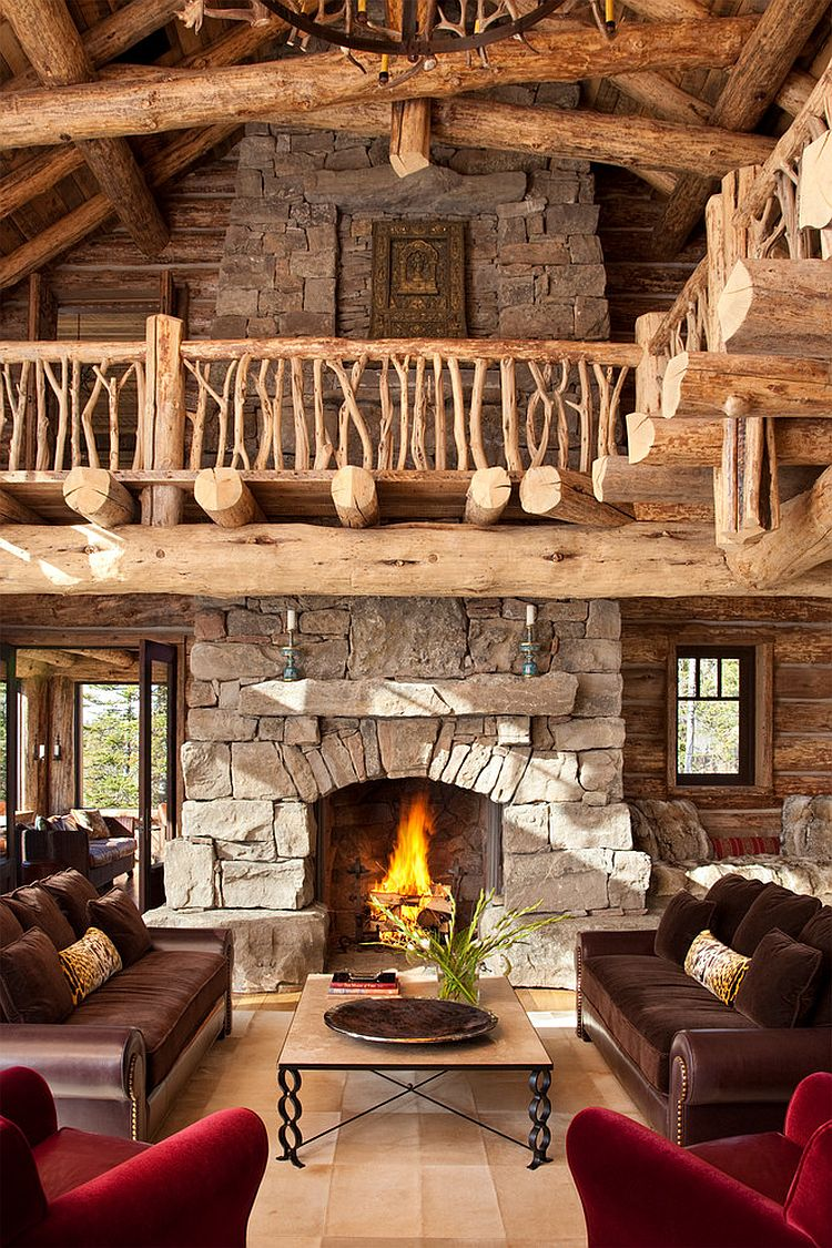 Sessel Modern Amazing Views Meet Timeless Charm At Rustic Mountain Cabin