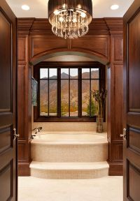 Framed to Perfection: 15 Bathrooms with Majestic Mountain ...