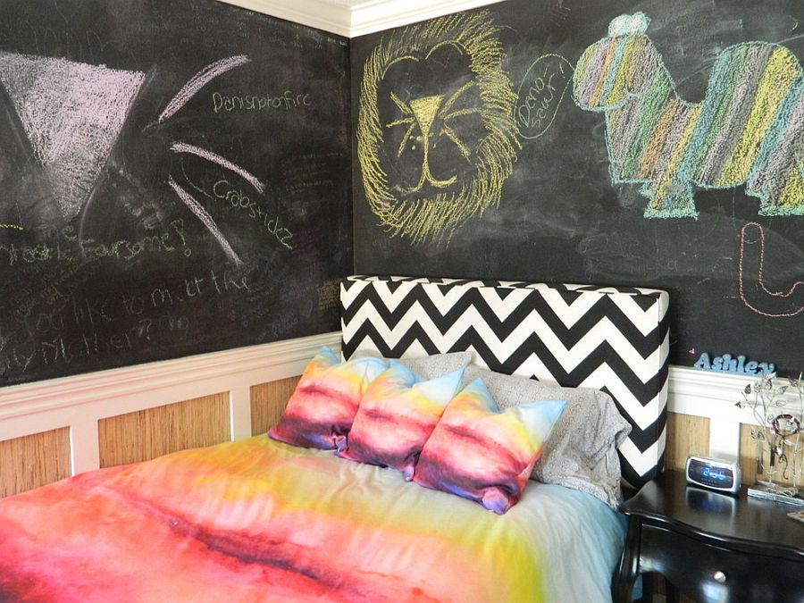 Cool Wallpapers For Teen Girls 25 Kids Bedrooms Showcasing Stylish Chevron Pattern