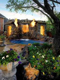 Small Of Backyard Landscape Ideas With Pool