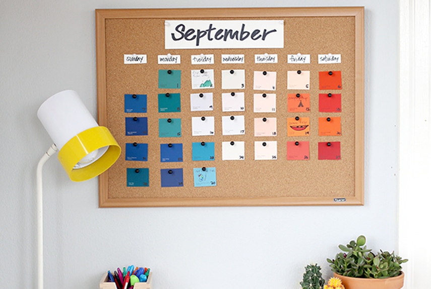 20 Creative Calendar Designs - make photo calendar
