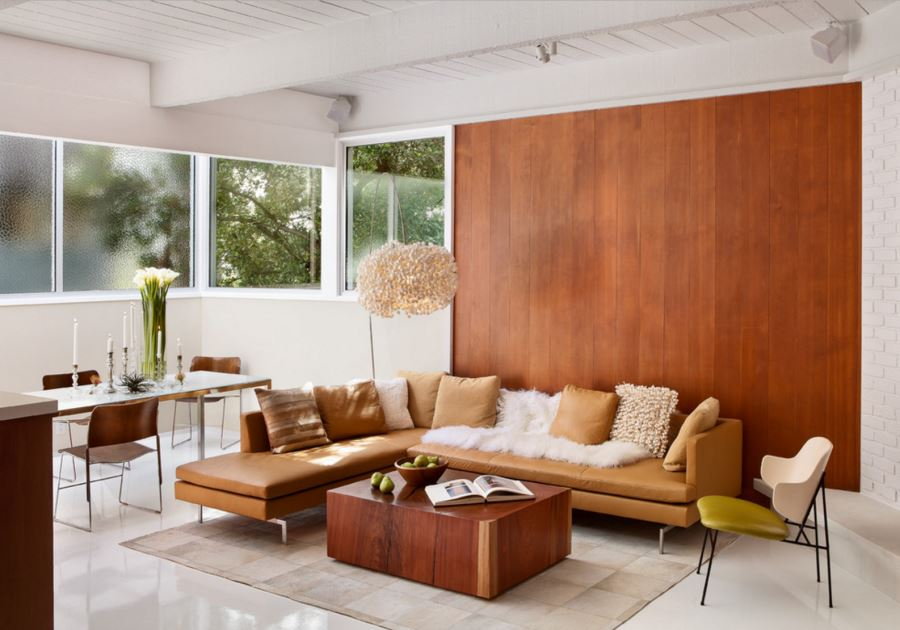 20 Rooms with Modern Wood Paneling - contemporary wall paneling