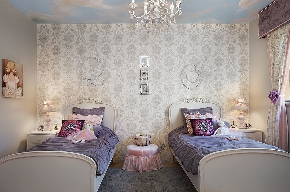 Toddler Girl Bedroom Wallpaper 30 Creative And Trendy Shabby Chic Kids Rooms