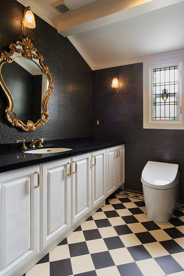 Full Frame Half Frame A Timeless Affair 15 Exquisite Victorian Style Powder Rooms