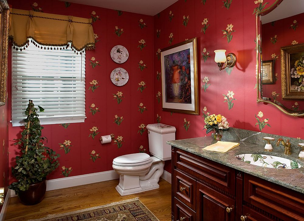 3d Modern Wallpaper For Walls Designs A Timeless Affair 15 Exquisite Victorian Style Powder Rooms