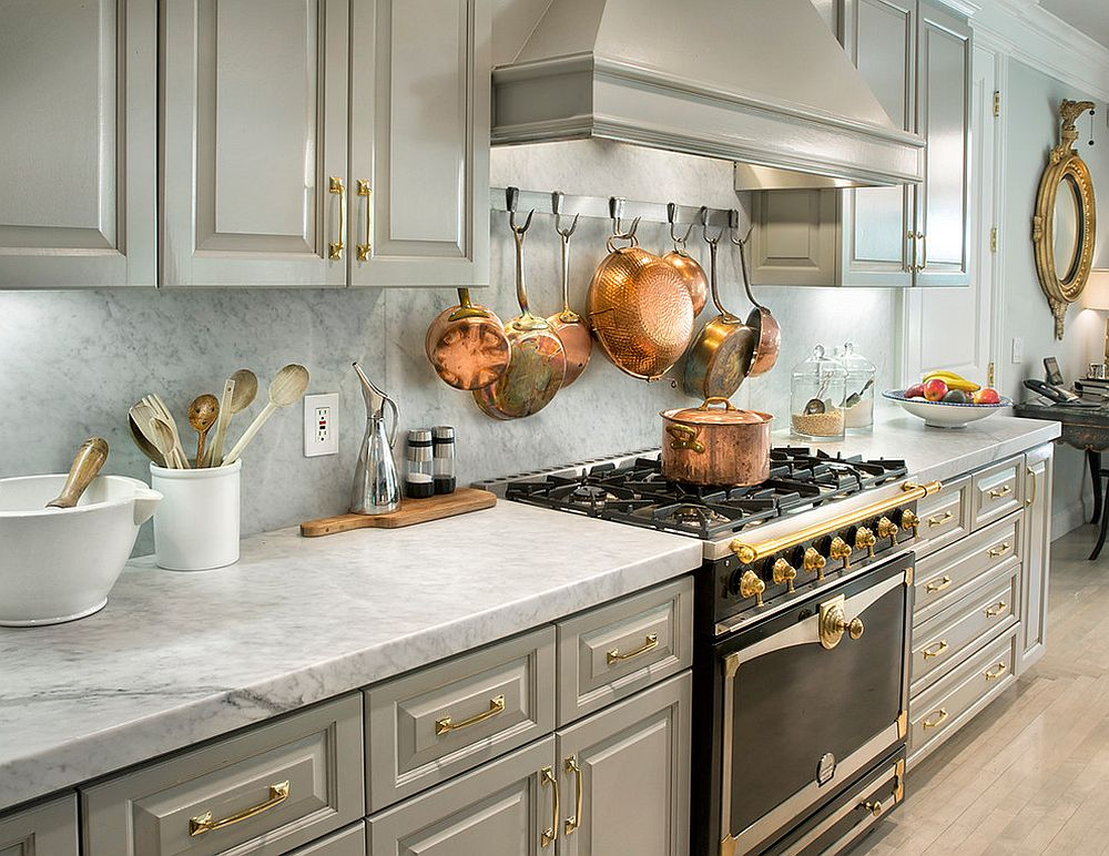 Kitchen Island Alternatives Sparkling Trend: 25 Gorgeous Kitchens With A Bright