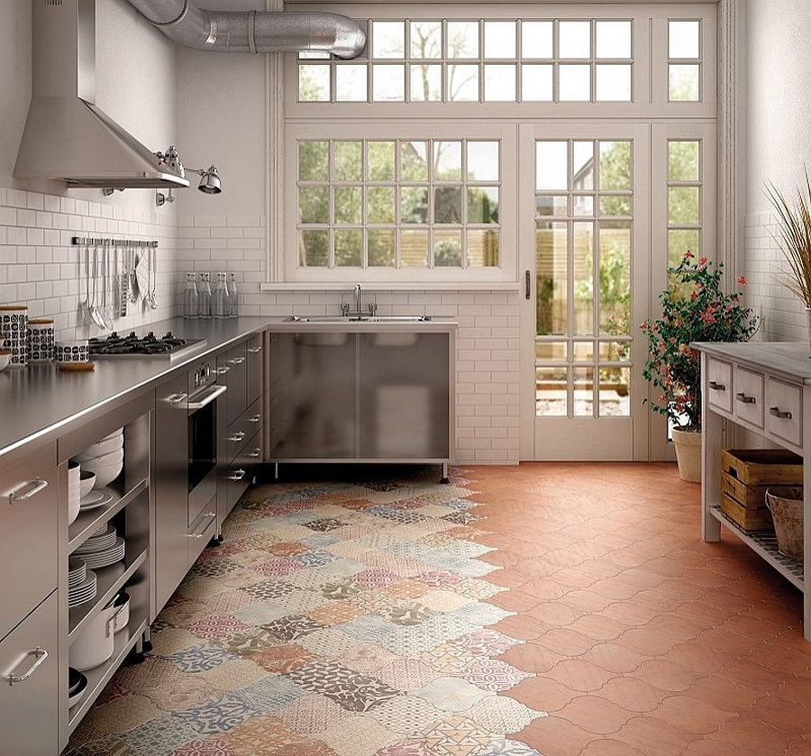 Tappeti Arredamento Vintage 25 Creative Patchwork Tile Ideas Full Of Color And Pattern